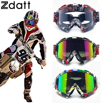 Zdatt Professional Adult Motocross Goggles Fox Racing Mx Goggle Motorcycle Goggles Sport Ski Glasses