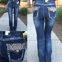 GRACE IN L.A. FALL TREASURES EASY BOOTCUT JEANS