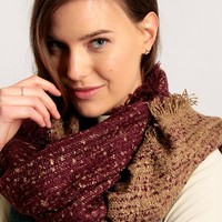 Roman Holiday Knit Scarf | Ruche