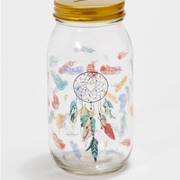 Dream Catcher Mason Jar Bank