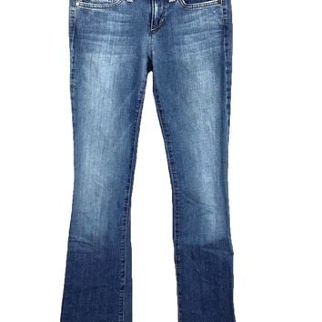 Joe's Jeans Socialite Boot Cut Garcia Light Wash Stretch Women's 25 Actual 28x34 - Preowned