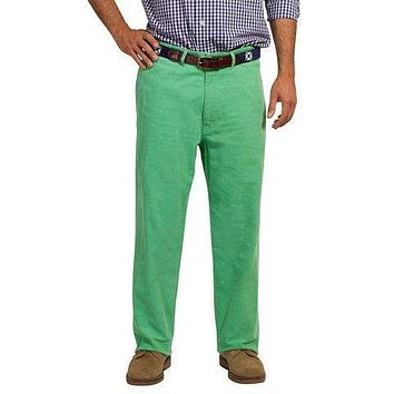 Mariner Pants in Caribbean Corduroy Palm Frond by Castaway Clothing - FINAL SALE