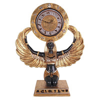 Park Avenue Collection Egyptian Goddess Isis Clock