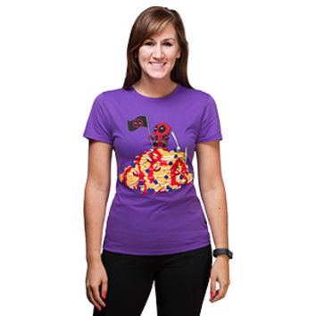 Deadpool Pancake Mountain Ladies' Tee