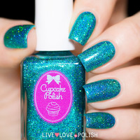 Cupcake Polish Bluebell Girls Nail Polish (Las Vegas Showgirls Collection)