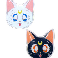 LUNA & ARTEMIS METAL PIN SET