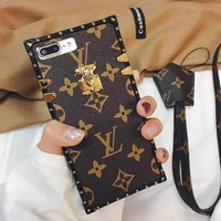 LV LOUIS VUITTON 2019 Hot ! iPhone 8 iPhone 8 Plus iPhone X iPhone XS iPhone XS MAX iPhone XR - Stylish Cute On Sale Hot Deal Matte Couple Phone Case For iphone 6 6s 6plus 6s plus iPhone 7 iPhone 7 plus