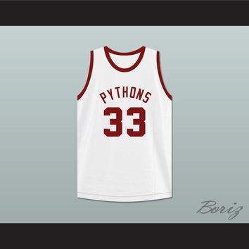 Jackhammer Washington 33 Pittsburgh Pythons Basketball Jersey The Fish That Saved Pittsburgh