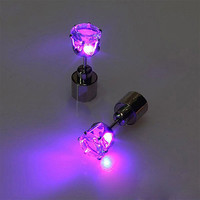 LED Imperial Crown  Designed 1 Piece Trendy Charm Earrings