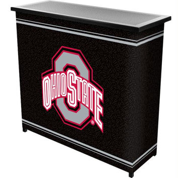 The Ohio State University 2 Shelf Portable Bar w- Case