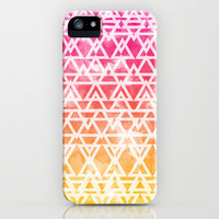 Tribal Watercolor iPhone Case by Emma Mazur   Society6