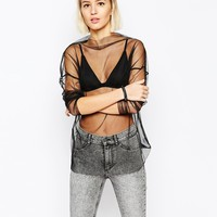 Cheap Monday Magnetize Sheer Top