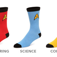 Star Trek Socks 3-pack