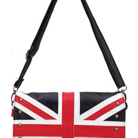 ROMWE | Union Jack Clutch(Halloween sale on Oct.26th), The Latest Street Fashion