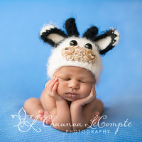 FREE SHIPPING CODE - Fuzzy Baby Cow