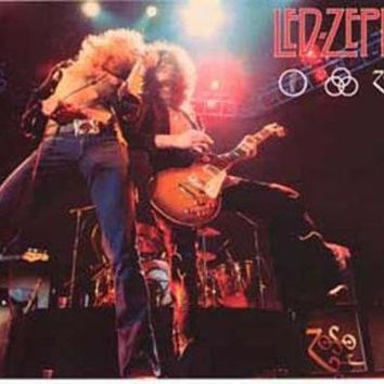 MDIGON1O Led Zeppelin Live Poster 11x17 Day First