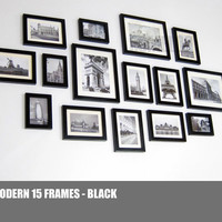 Photo Picture Frame Set -  Modern 15