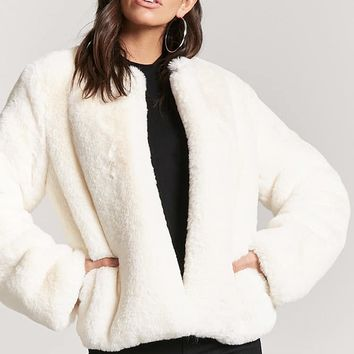 Oversized Faux Fur Jacket
