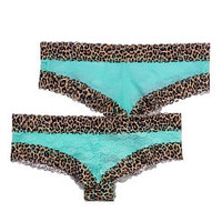 Lace Front Cheekster Panty - PINK - Victoria's Secret