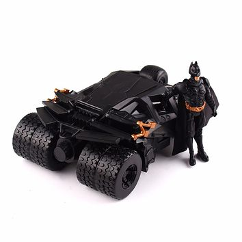 Sets The Dark Knight BATMAN & BATMOBILE Tumbler BLACK CAR Vehecle Toys Doll With Figure 87020