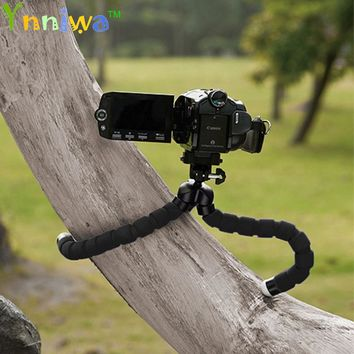 10pcs NEW Universal Flexible Mini Tripod Portable Octopus Stand Mount Bracket Holder Monopod For Mobile Phones Cameras Camcorder
