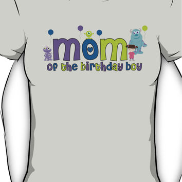 Monsters Inc Mom of the birthday boy Women's T-Shirt