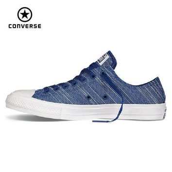 DCKL9 Original Converse Chuck Taylor All Star II canvas shoes men's and women's sneakers low