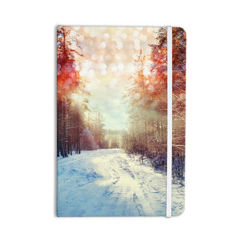 "Snap Studio ""Winter Walkway"" Snowy Everything Notebook"