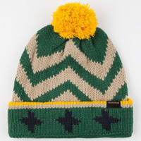 Nixon Mixology Beanie Green Combo One Size For Men 24555654901
