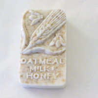 Cherry Almond Oatmeal, Milk and Honey Soap