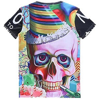 Birthday Party Skull Tee