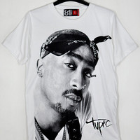 Best of Rapper Tupac Amaru Shakur 2Pac PAC Makaveli Digital Underground Black Panther Party The 7 Day Theory WhiteUnisex T-Shirt S to XXL
