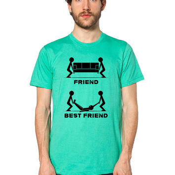 Best Friend Shirt - Funny T Shirt - Partners In Crime - Drunk Shirt - Soul Mate - Bar Shirt - Fraternity - Alcohol Tee - Beer Shirt - Liquor