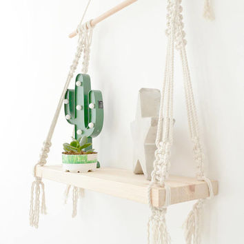 Macrame shelf, hanging macrame shelf, Boho shelves, Macrame Wall Shelf, Boho Shelf, Boho decor, Modern Macrame, Bohemian Decor