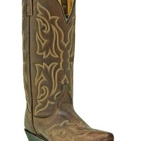 Laredo Stitched Vamp and Shaft Cowgirl Boots - Snip Toe - Sheplers
