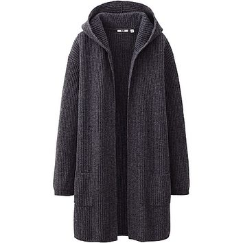 WOMEN HEAVY GAUGE SWEATER COAT