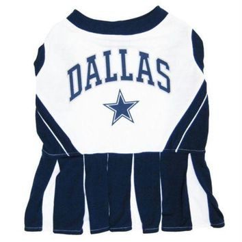 PEAPYW9 Dallas Cowboys Cheerleader Dog Dress