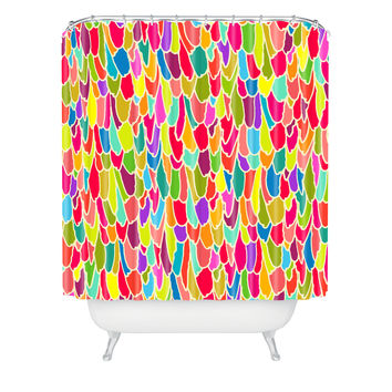 Sharon Turner Tickle Me Shower Curtain