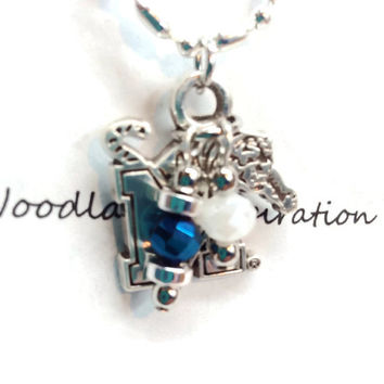 Memphis Tigers necklace, Tom the Tiger, University of Memphis, Go Tigers Go! Memphis Tigers jewelry