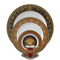 Versace  Medusa Red Dinnerware Collection