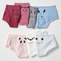 Gap Girls Critter Days Of The Week Hipster 7 Pack