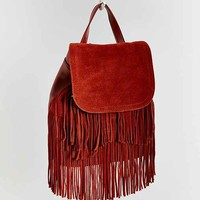 Ecote Suede Fringe Backpack