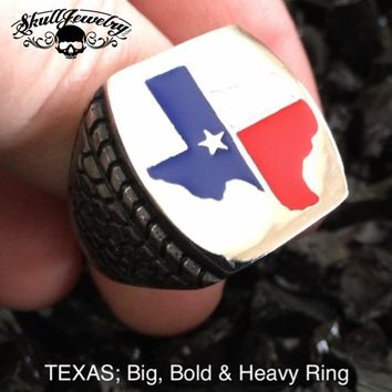 Big, Bold & Heavy TEXAS Ring (608)