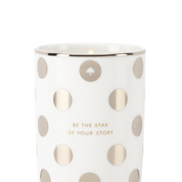 Kate Spade Be The Star Of Your Story Candle Silver ONE