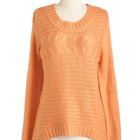 Apricot Ginger Tea Sweater | Mod Retro Vintage Sweaters | ModCloth.com