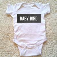 Baby bird, unisex Baby Onesuit, for boys and girls, newborn, 6 months, 12 months, 18 months, graphic baby Onesuit