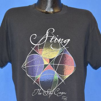 90s Sting The Soul Cages Album Tour t-shirt Extra Large