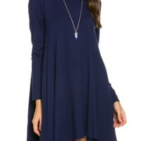 Always Autumn Dress | Navy
