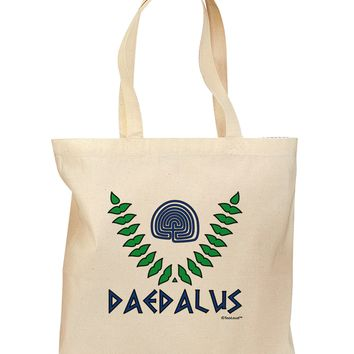 Labyrinth - Daedalus - Greek Mythology Color Grocery Tote Bag by TooLoud