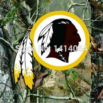 Washington Redskins  real tree camo  Flag 150X90CM Banner 100D Polyester3x5 FT flag brass grommets 001, free shipping